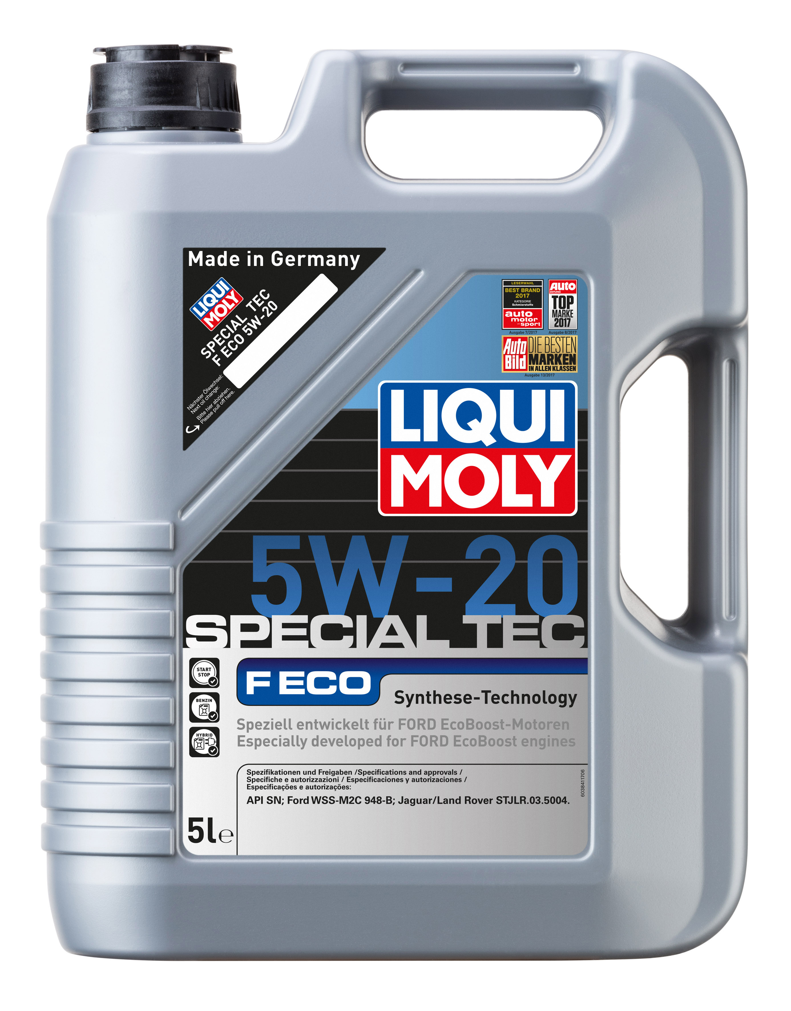ACEITE 5W20 Especial Ford EcoBoost